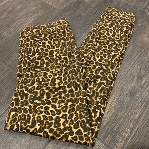 NWOT WE THE FREE LEOPARD SKINNY JEANS